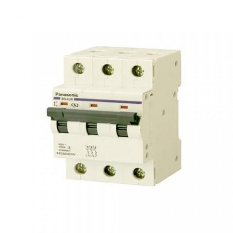 MCB 3P 63A 6kA 415VAC BBD3633CNV