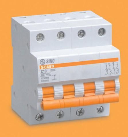 MCCB 4 POLE SC68N/C4050