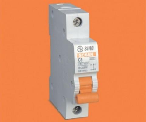 MCB -1 P0LE  6KA SC68N/C1050-1063