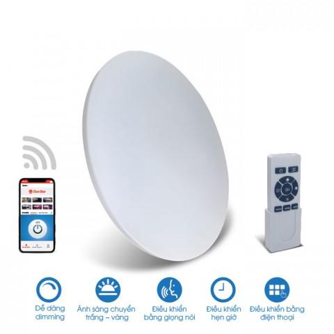 Đèn LED ốp trần 550/60W - điều khiển bằng Smartphone