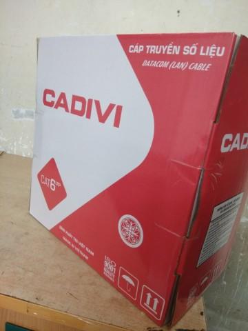 Cáp mạng CADIVI CAT6