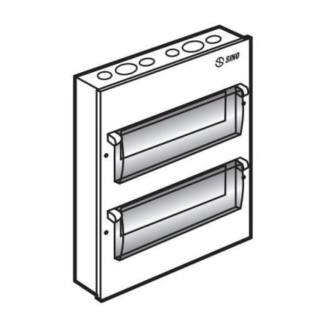 Tủ điện âm tường EM18PL